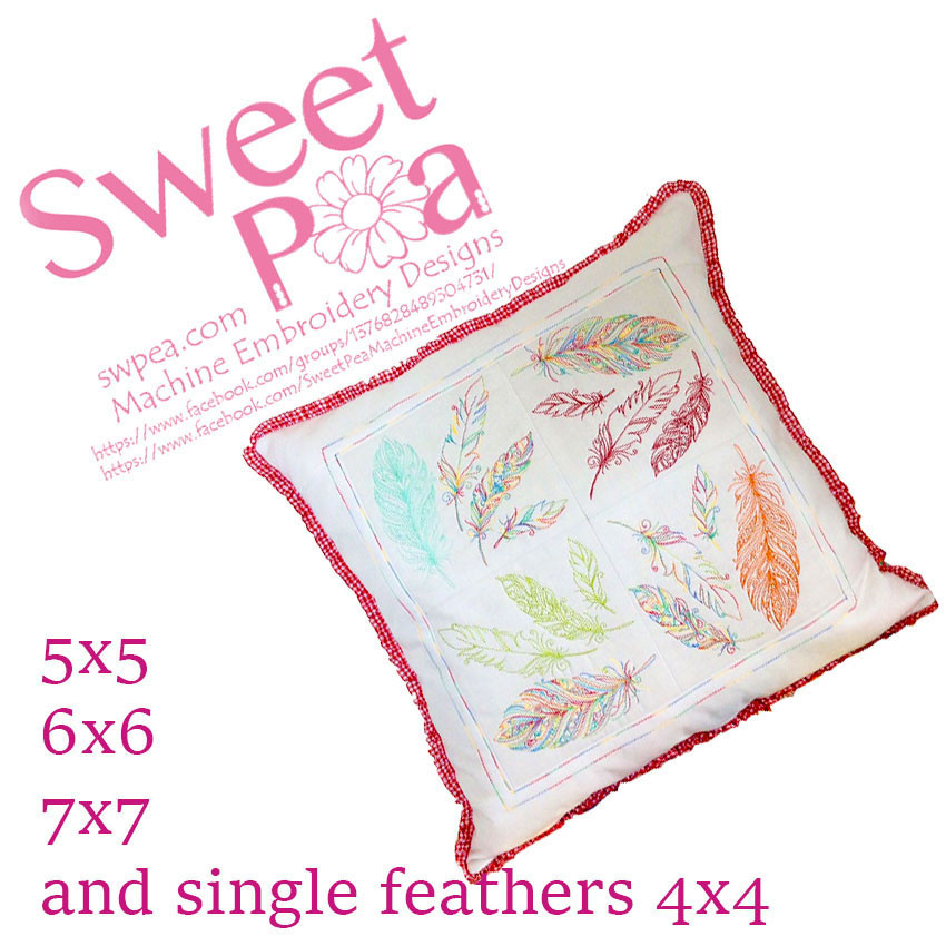 Sweet Pea Embroidery