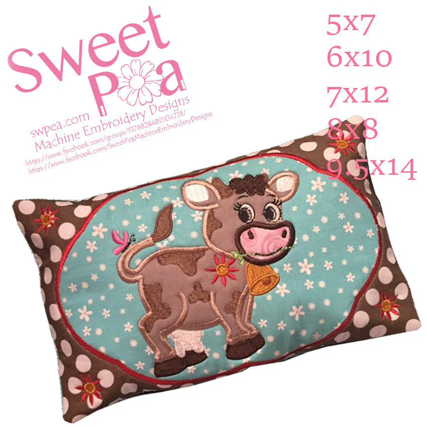 Sweet Pea 8 x 8