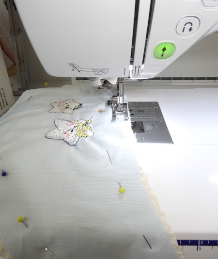 Sew edge