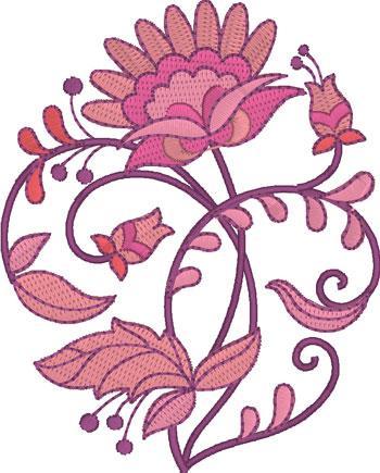 Floral Jacobean