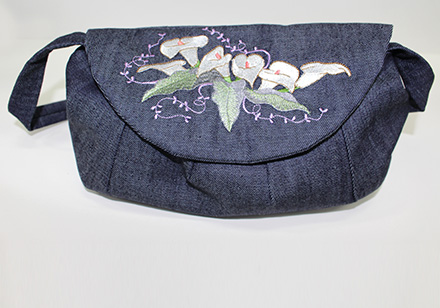 Sewing and Embroidery Project Bag