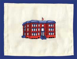 Proper embroidery design registration