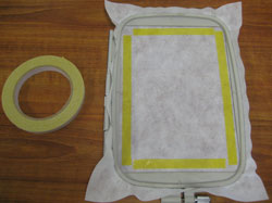double sided embroidery tape image 2